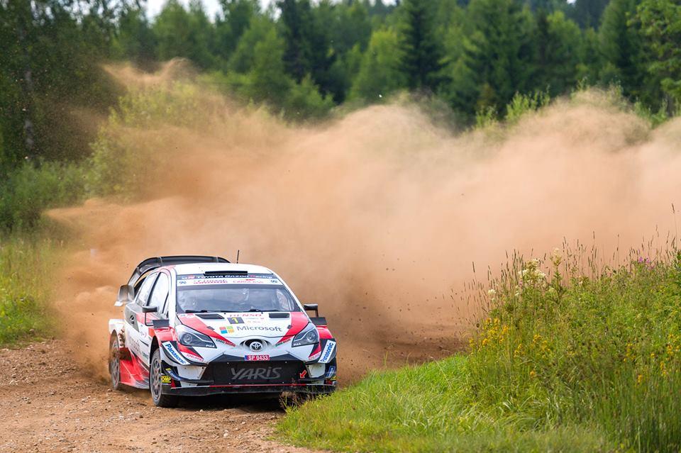 Rallye estonie 2018