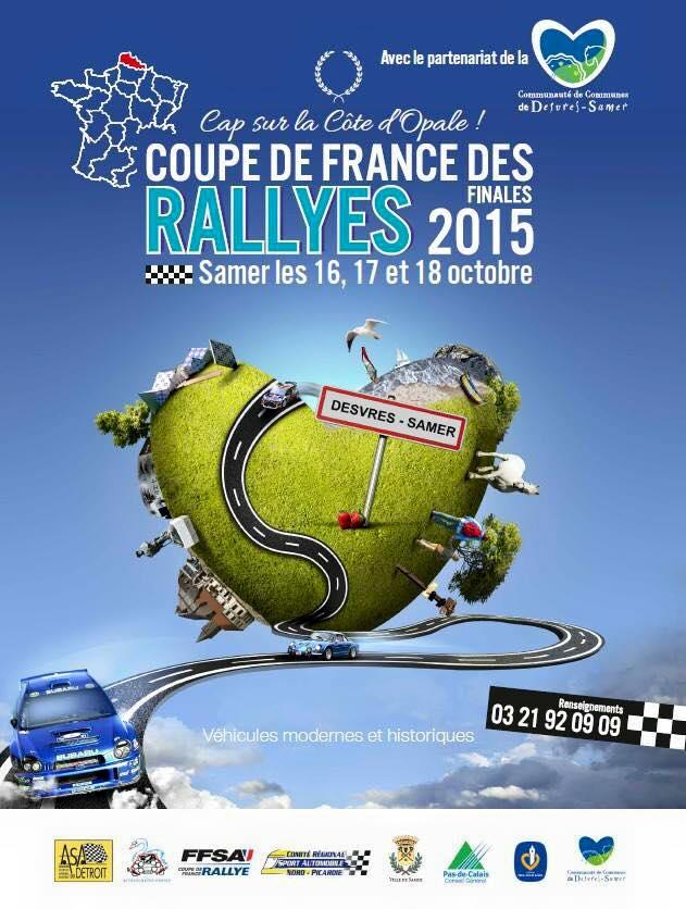Finale des rallyes 2015 samer - Calendrier coupe de france des rallyes ...