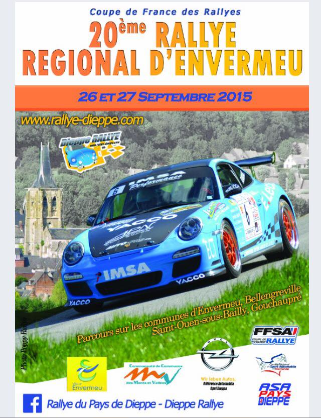 Rallye Envermeu 2015