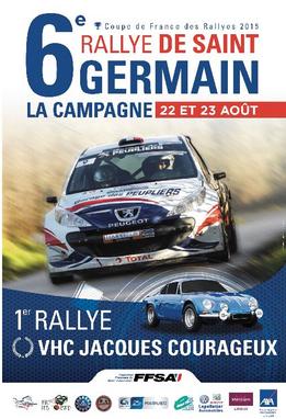 Rallye St Germain la Campagne 2015