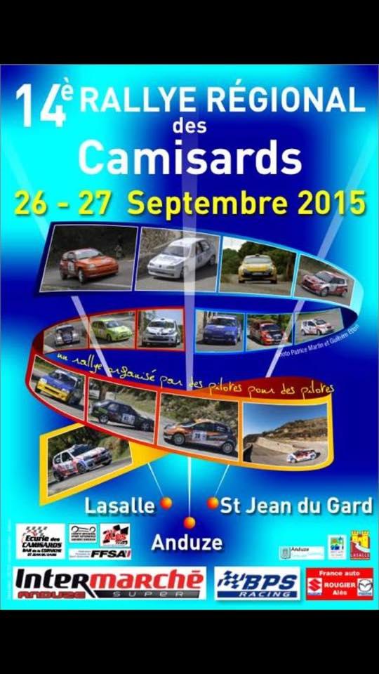 Rallye des Camisards 2015