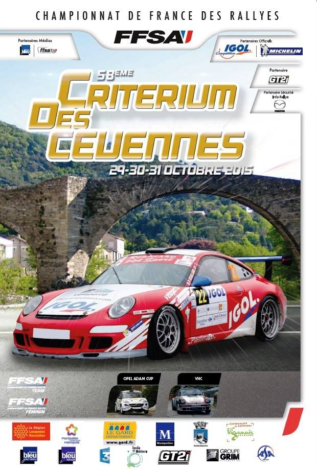 Rallye des Cevennes 2015