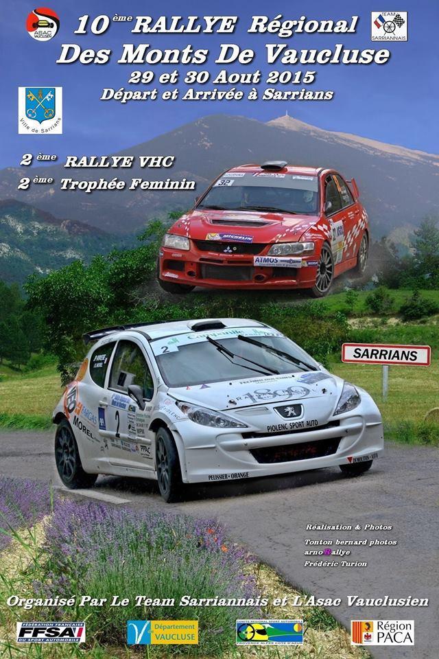 rallye vaucluse 2015