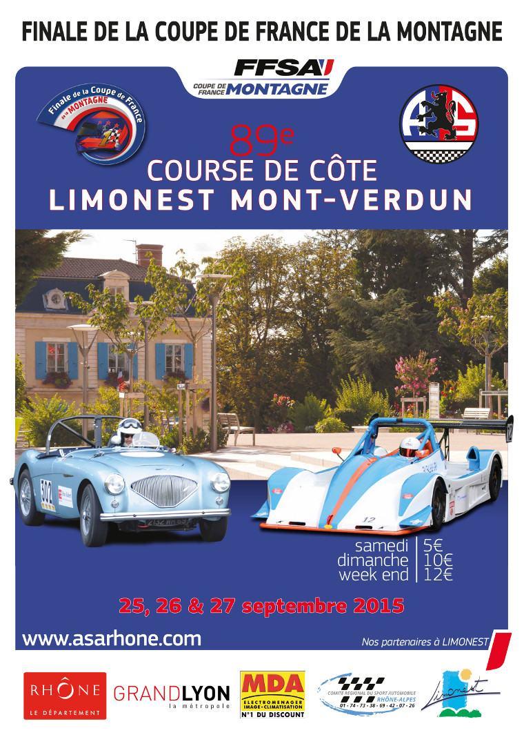 Finale montagne course de c te limonest 2015 - Calendrier coupe de france des rallyes 2015 ...