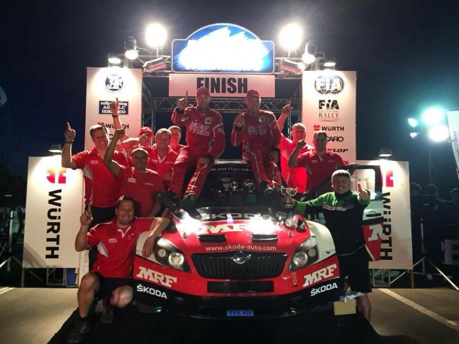 Pontus Tidemand champion APRC 2015