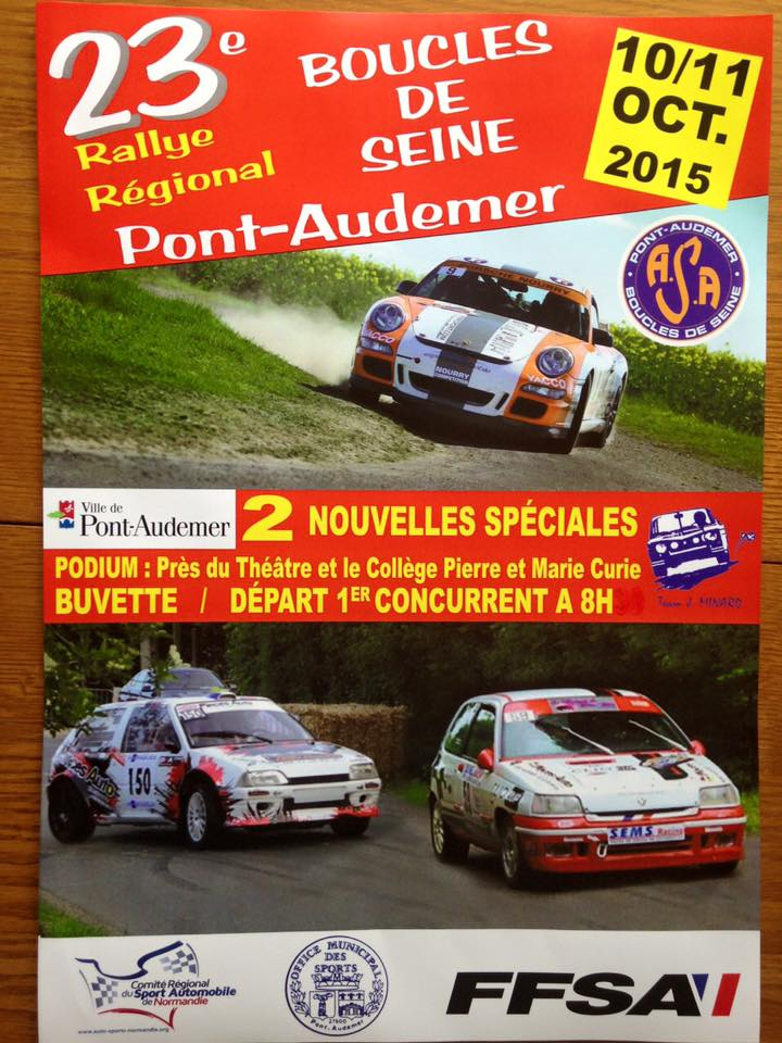 Rallye Boucles des Seines 2015