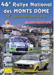 Rallye des Monts Dome 2015