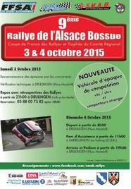 Classement Rallye Alsace Bossue 2015