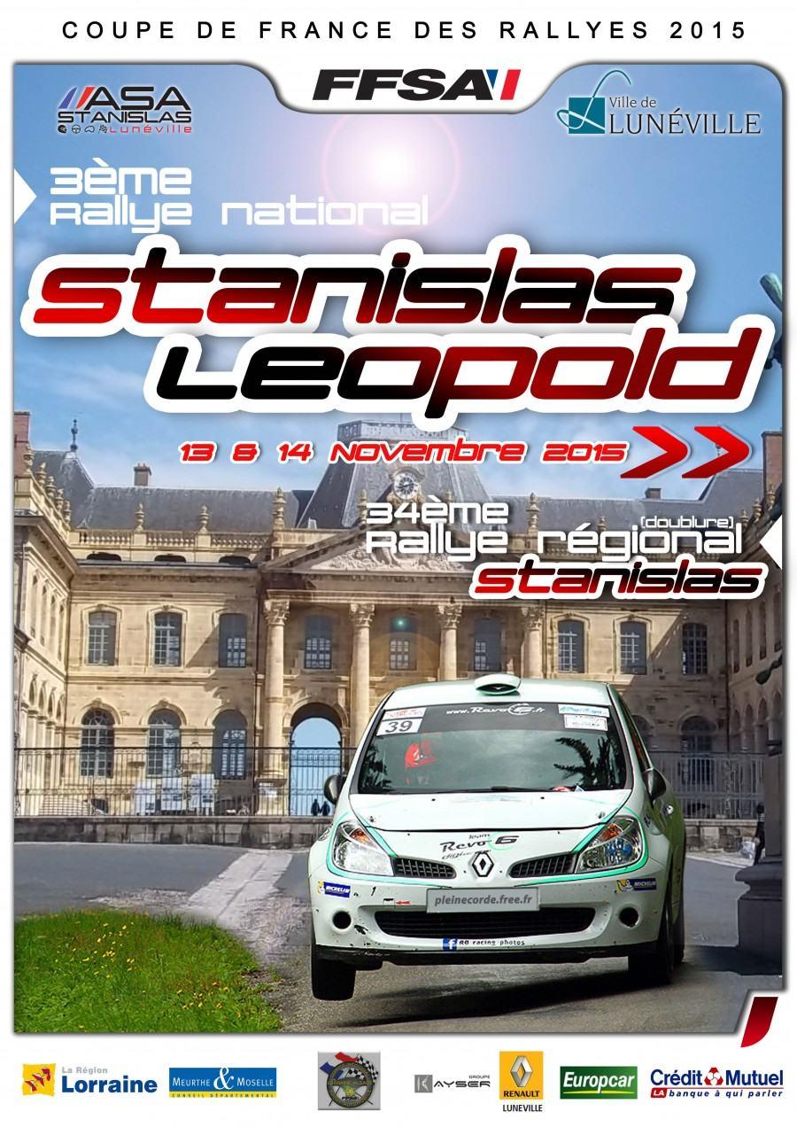 Liste des engag s rallye stanislas 2015 - Calendrier coupe de france des rallyes ...