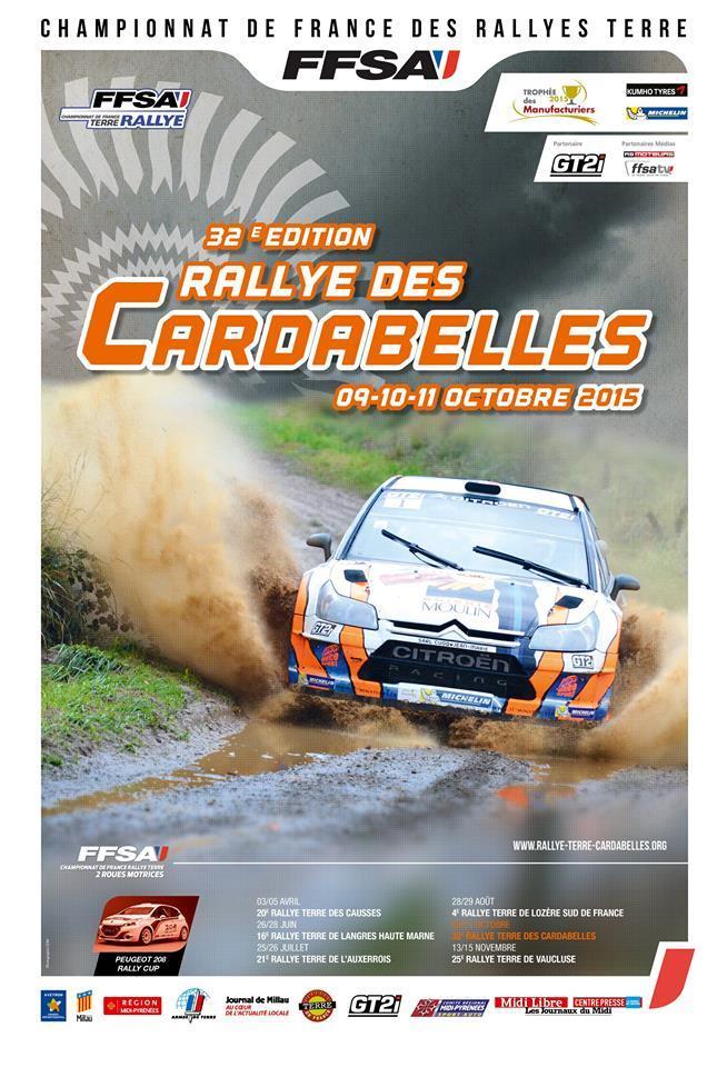 Rallye Terre Cardabelles 2015