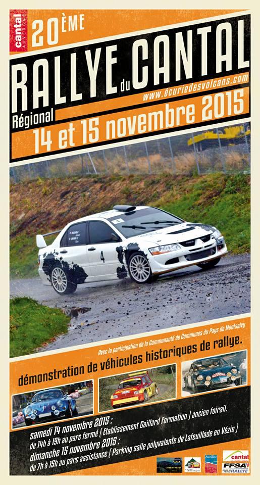 Rallye du Cantal 2015