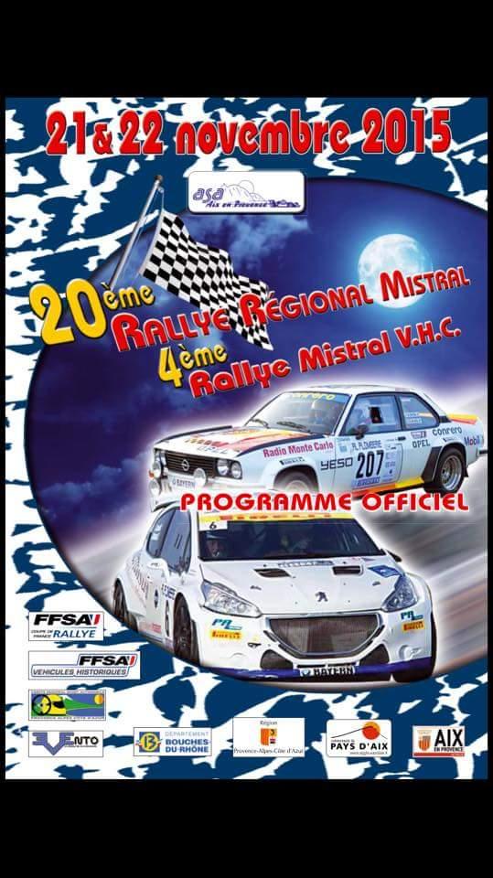 Rallye du Mistral 2015