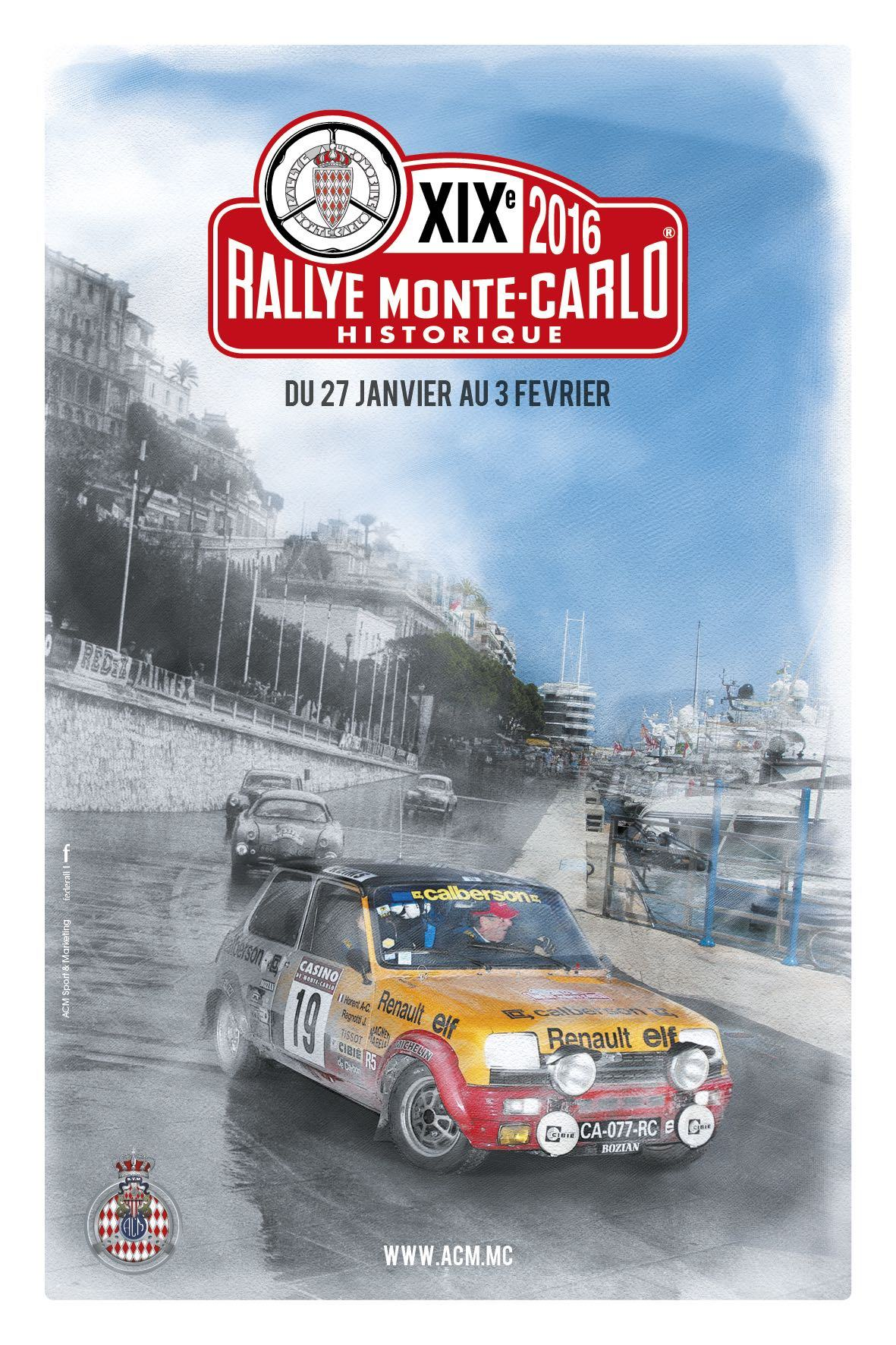 rallye monte carlo historique 2016. Black Bedroom Furniture Sets. Home Design Ideas
