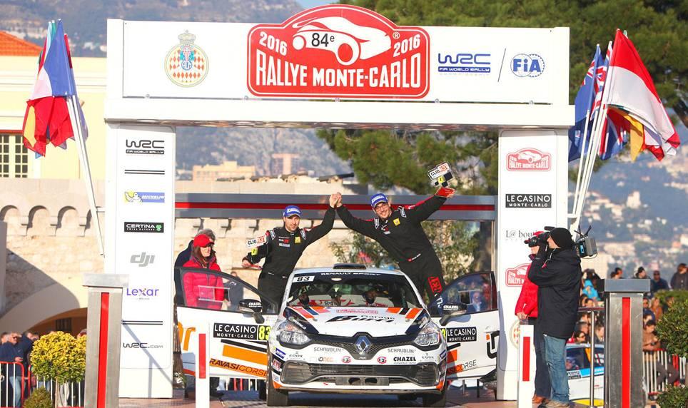 Burri vainqueur trophee Renault