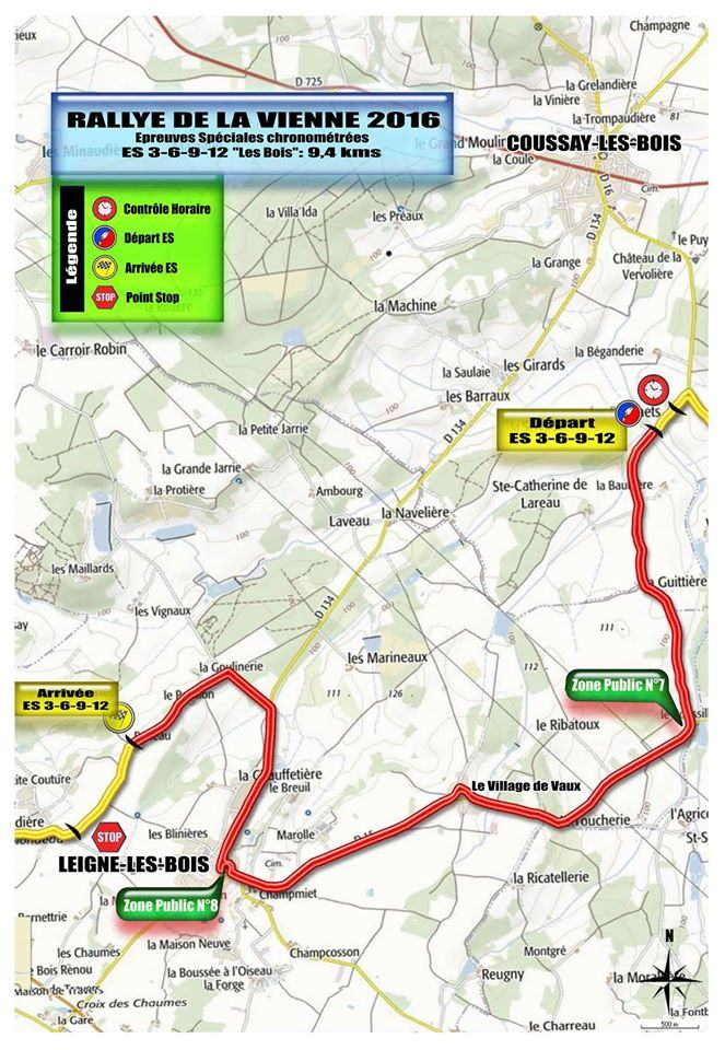 Rallye de la vienne 2016 for Habitat de la vienne chatellerault