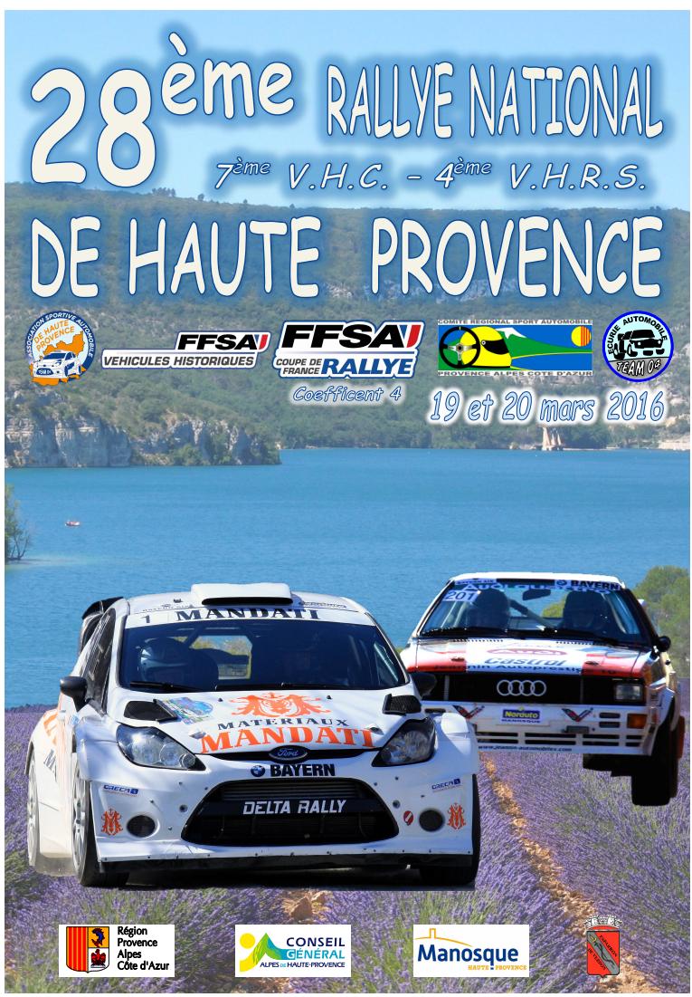 Rallye Haute Provence 2016