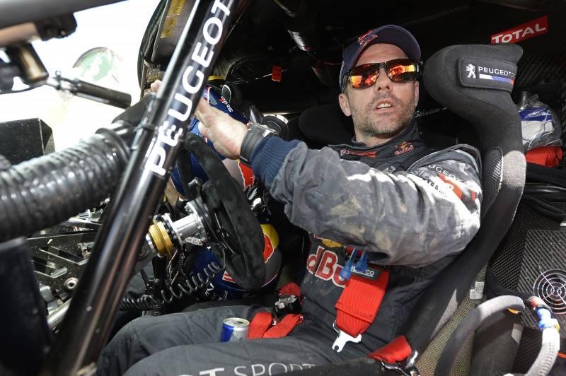 Reactions Loeb Arrivee Etape 3 Dakar