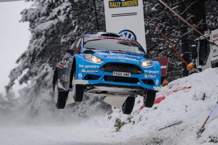Evans Classement WRC 2 Suede