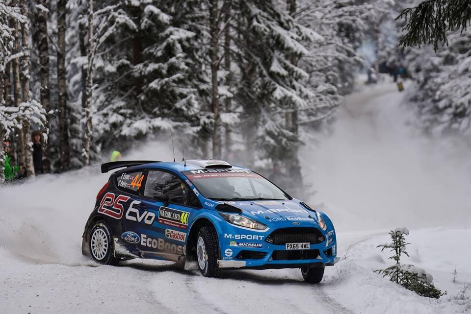 Evans M-Sport Suede 2016