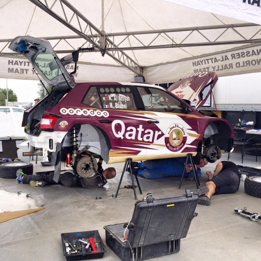 Liste engages Qatar Rally 2016