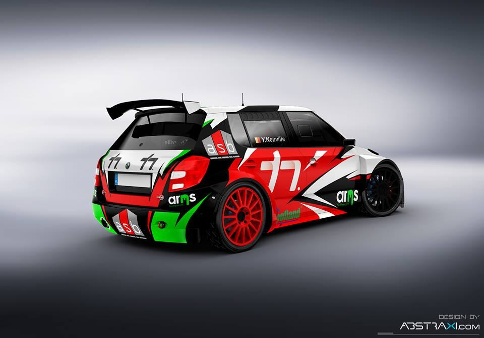 Neuville Fabia S2000 allemagne 2016