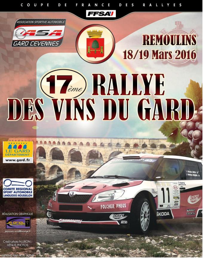 Rallye des Vins du Gard 2016