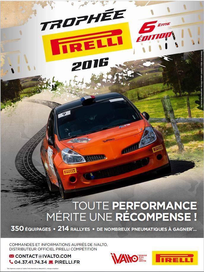 Trophee Pirelli 2016 repart
