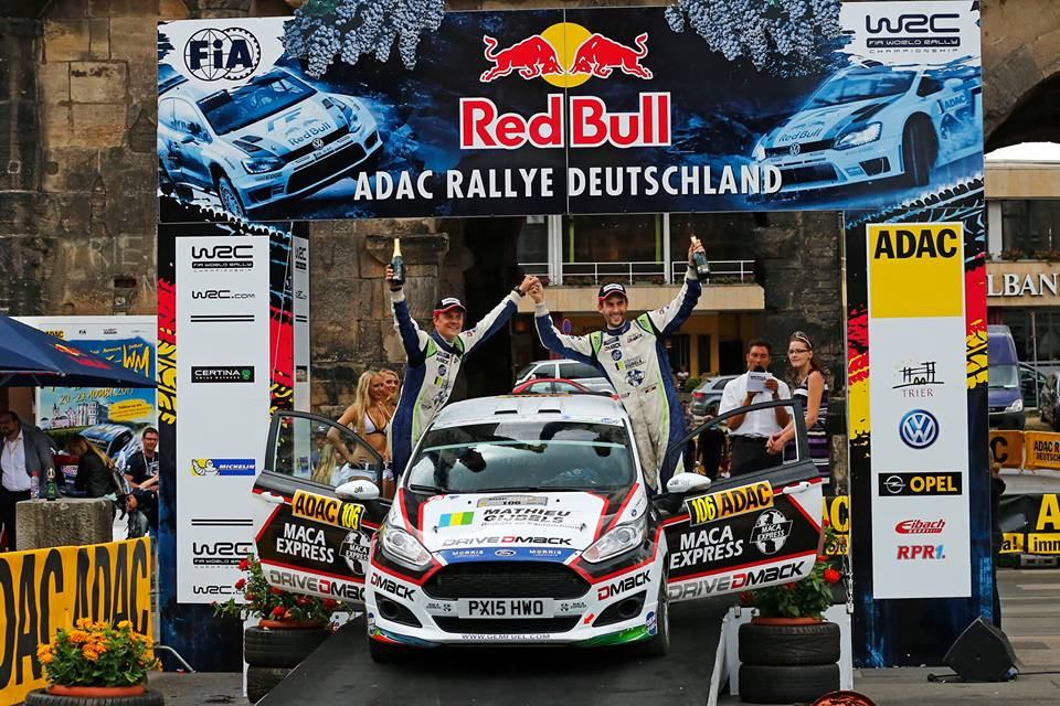 De Mevius en WRC-2 2017