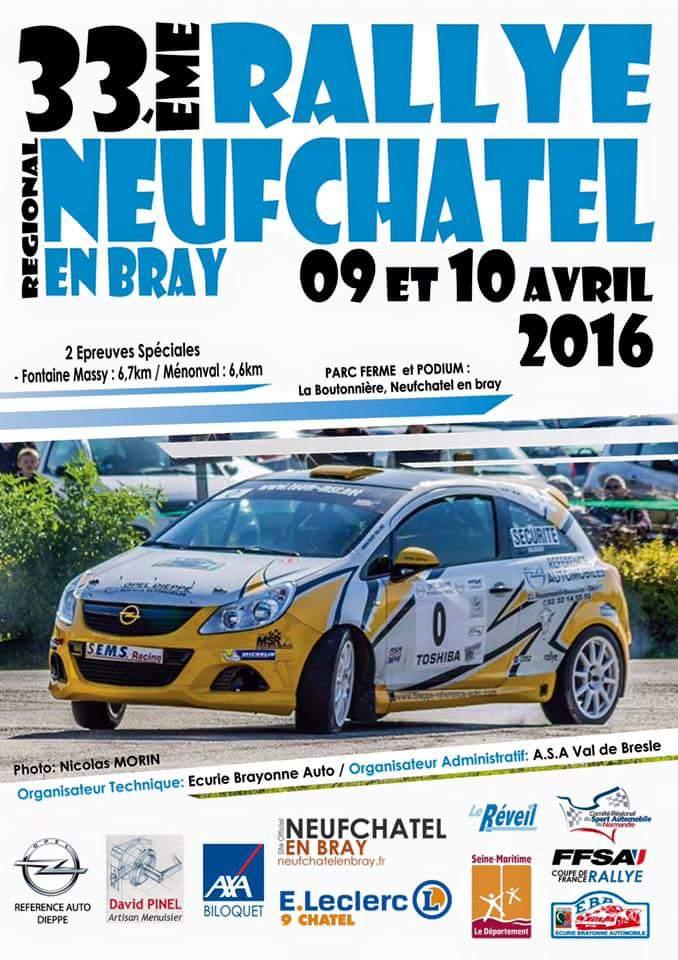 Rallye Neufchatel en Bray 2016