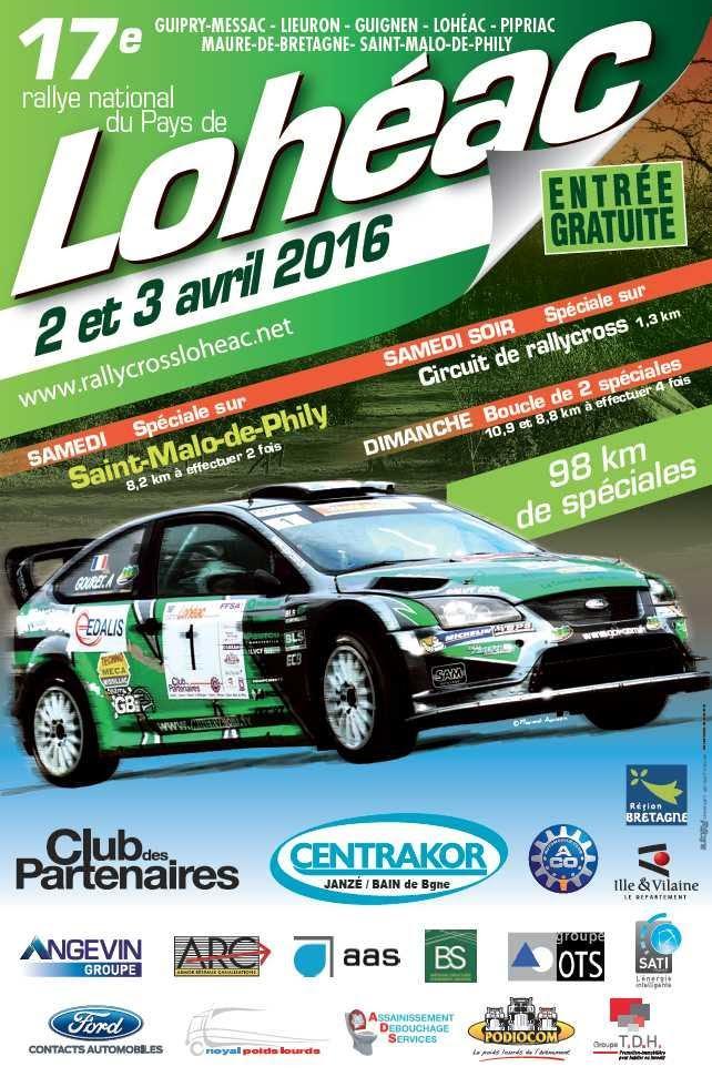 Rallye loheac