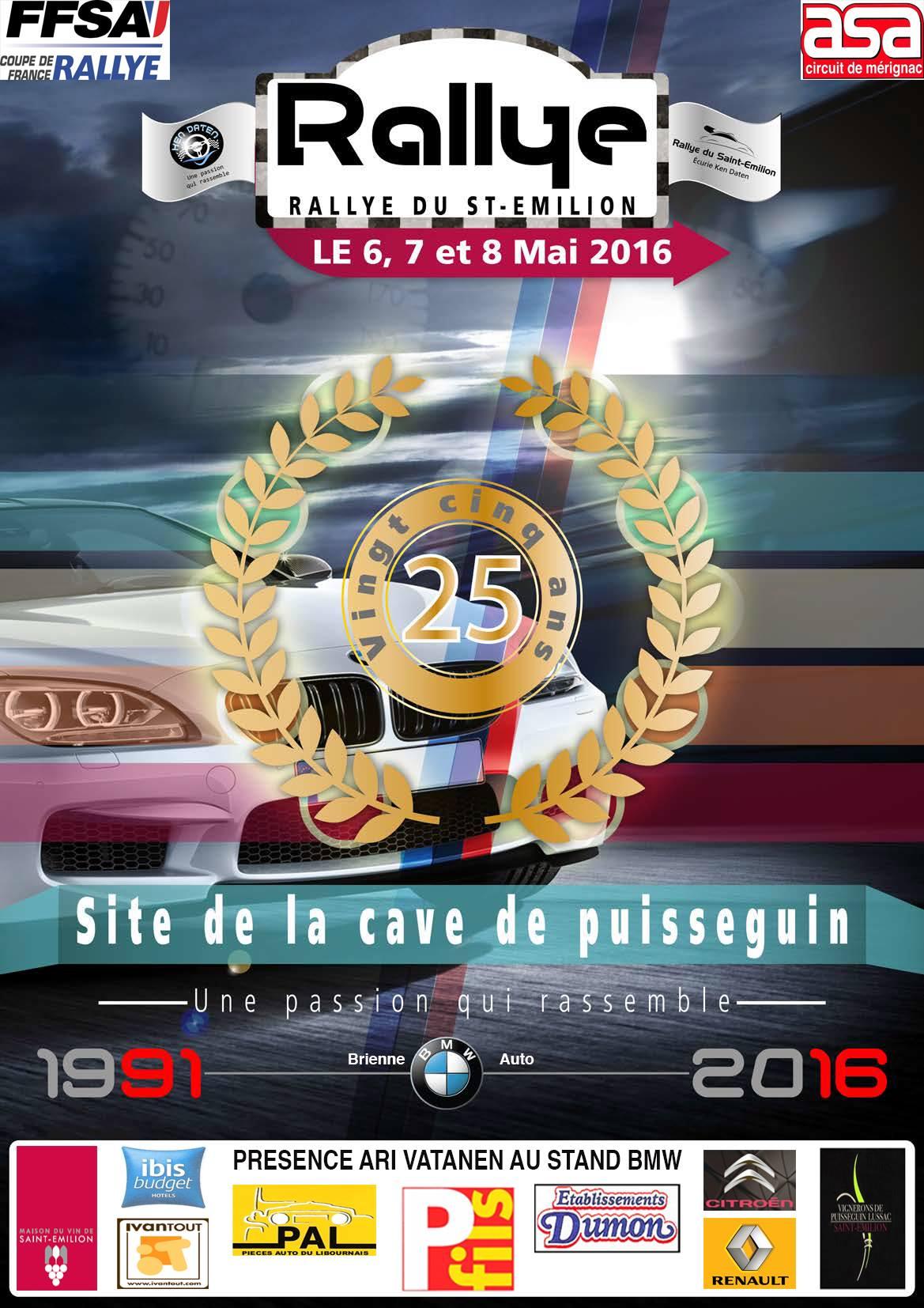 Rallye St Emilion 2016