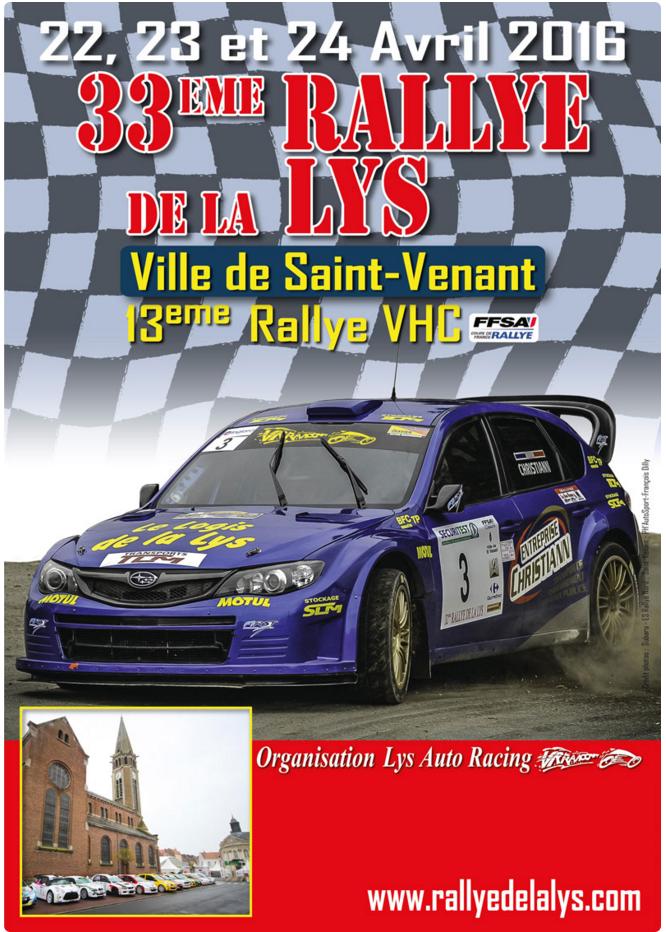 Rallye de la Lys 2016