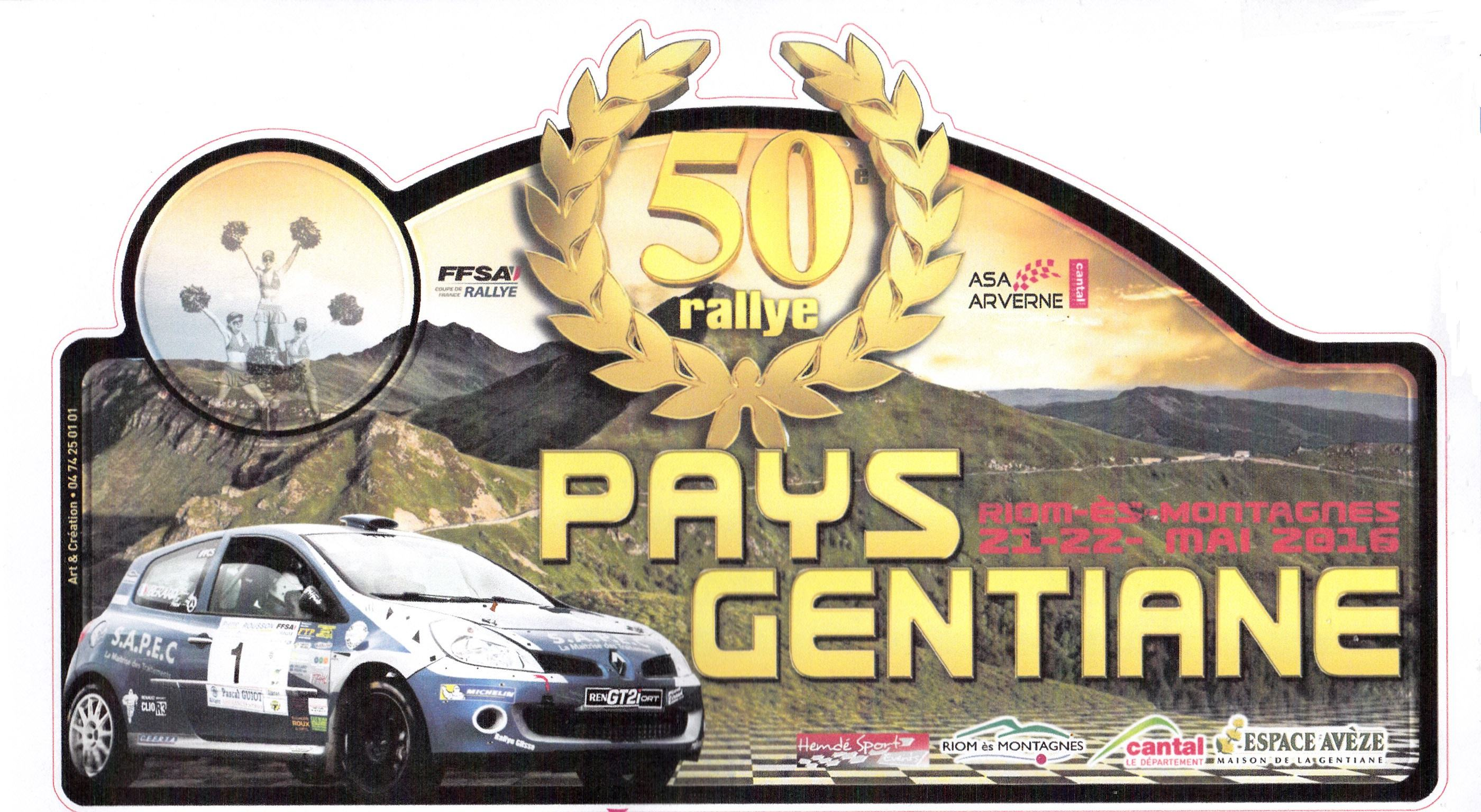Rallye Pays Gentiane 2016