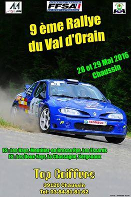 Rallye Val d'Orain 2016