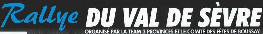 Rallye Val de Sevre 2016