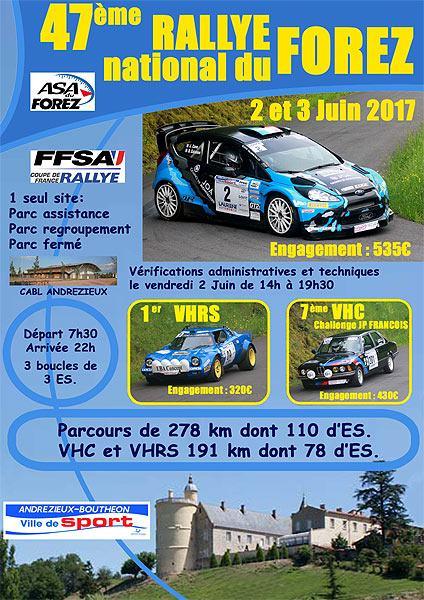Rallye forez