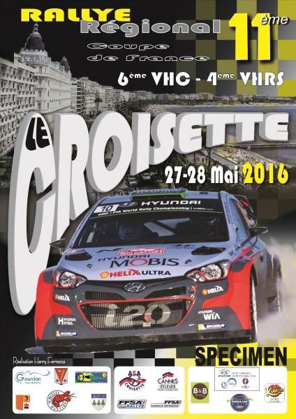 Rallye Croisette 2016
