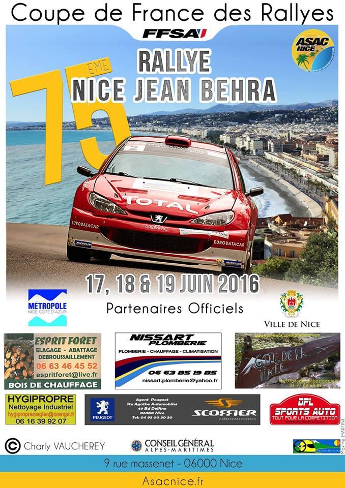 Rallye Nice Jean Behra 2016