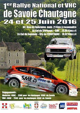 Rallye de Savoie Chautagne 2016