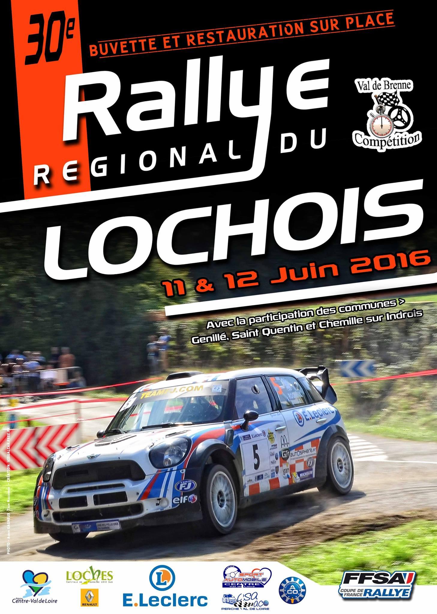 Rallye du Lochois 2016