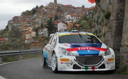 Paolo Andreucci, Anna Andreussi (Peugeot 208 R5 #205, FPF SPORT)