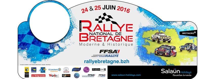 Liste des engages Rallye de Bretagne 2016