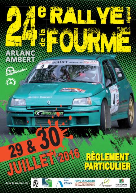 Rallye Fourme d'Ambert 2016