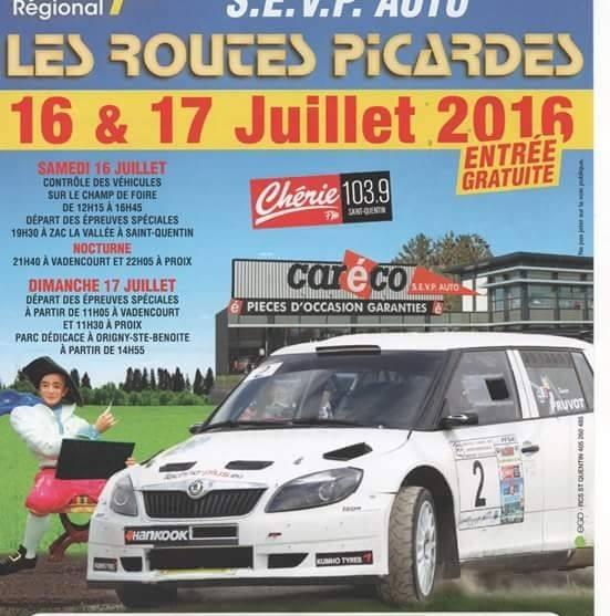 Rallye Routes Picardes 2016