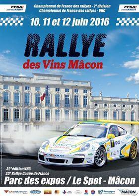 Rallye Vins Macon 2016