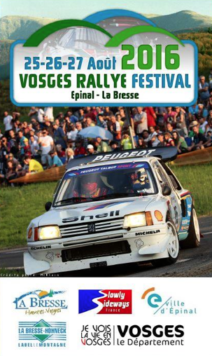 liste des engag s vosges rallye festival 2016. Black Bedroom Furniture Sets. Home Design Ideas