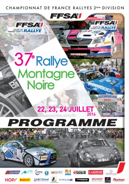 Direct Rallye Montagne Noire 2016