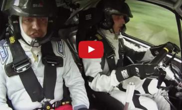 Video Essais Kubica Clio S1600