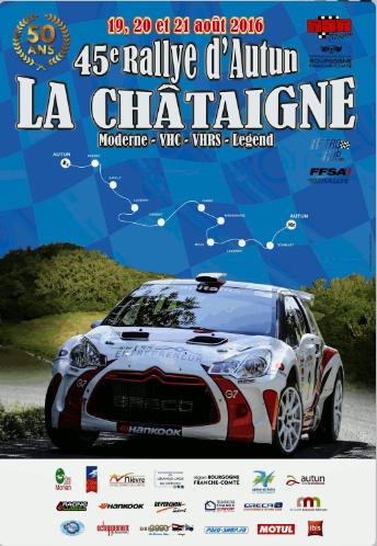 Direct Rallye Autun 2016