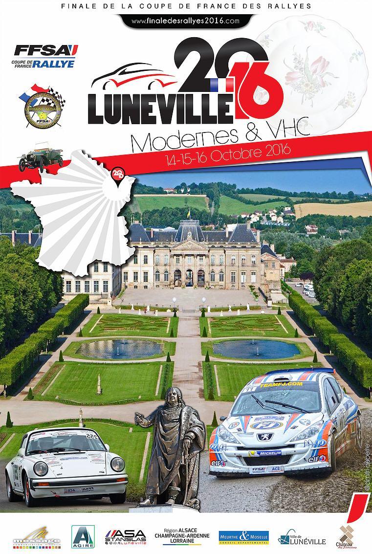 Finale des rallyes 2016 de lun ville - Calendrier coupe de france des rallyes ...